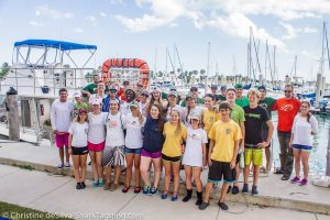 Thanks St. Thomas Aquinas and Dalton for coming out with us for an amazing day of shark tagging!