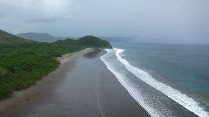 An image of Nancite beach, one of the main arribada spots in Costa Rica (Photo taken by Edith Shum)