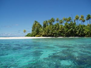 The Chagos Archipelago is the world's largest marine reserve in the world, with an area of 250,000 square miles. Image Source: Wikimedia Commons